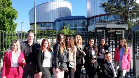 Studijska posjeta Evropskom sudu za ljudska prava