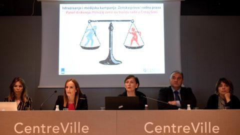 Većina žena misli da su diskriminisane na crnogorskom tržištu rada