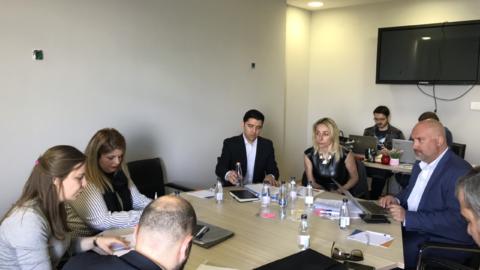 Održan sastanak sa donosiocima odluka iz oblasti političkog finansiranja i pravosudnog integriteta