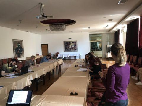 Održan trodnevni seminar o upravljanju projektima za nevladine organizacije koje su dobile grant